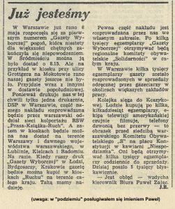 """1989-05-09-juz-jestesmy-gw2-251x300 Warszawskie biuro wyborcze """"S"""" - NIESPODZIANKA"""